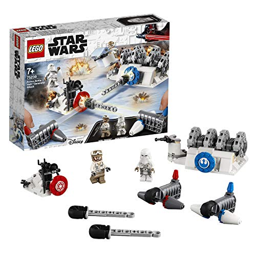 LEGO 75239 Star Wars TM Action Battle: Ataque al Generador de Hoth (Descontinuado por Fabricante)