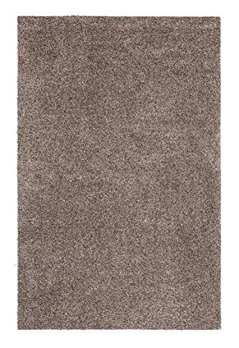 andiamo Schmutzfangmatte Samson waschbarer Teppich für den Innenbereich, 100 x 150 cm granit