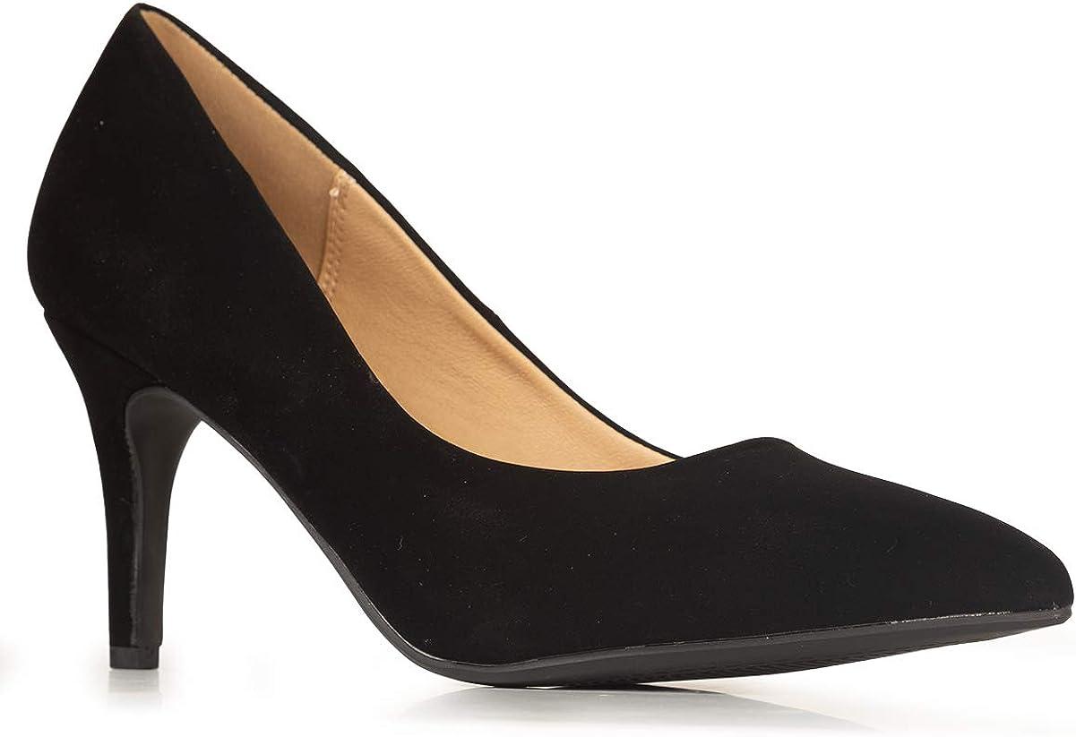 Indianapolis Mall J. Adams Trust Marlin Heels for Women Stiletto Heel Pointed Toe - Low