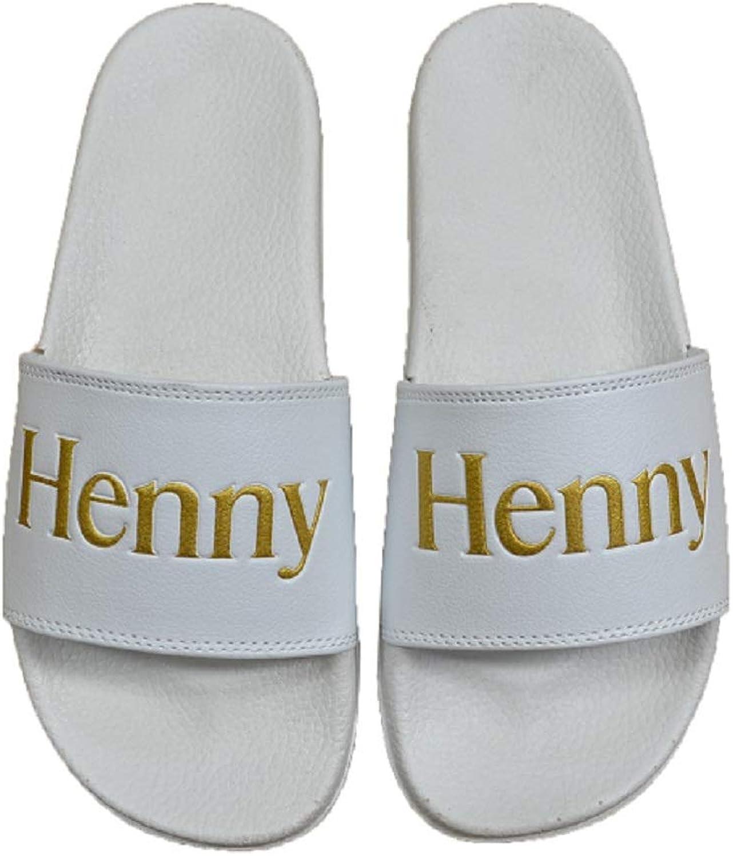 CONNETIC Henny Slides White gold Slip On Men's Sandals