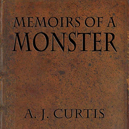 Memoirs of a Monster audiobook cover art
