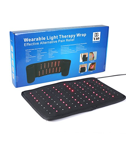 Check Out This Red Light Therapy Wrap for Back Shoulder Neck Pain Near Infrared Light Heat Pads-Extr...