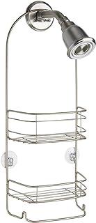 iDesign Rondo Bathroom Shower Caddy for Shampoo, Conditioner, Soap - Satin