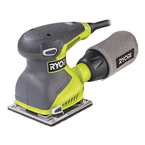 Ryobi EOS2410NHG Schleifmaschine, 1/4 Blatt, 240 W, 0 V, Hyper Green