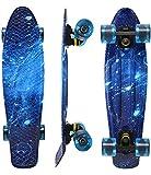 WonderTech 55 cm Skateboard Kinder Penny Board Mini Cruiser für...