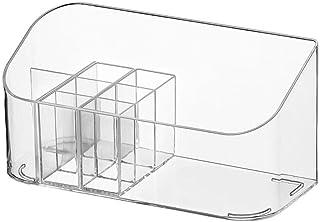 Chicya Boîte de rangement de salle de bain Boîte de rangement cosmétique Boîte de rangement de produits de toilette Panier...