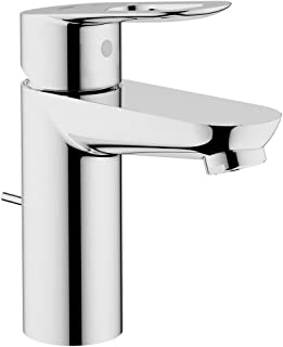 GROHE 23084000 BauLoop Single-Handle Bathroom Faucet, 1.5 GPM, Starlight Chrome