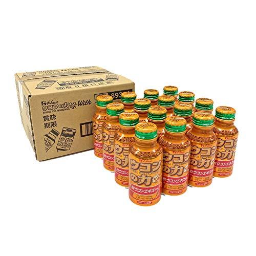 [Amazon限定ブランド] ウコンの力 ウコンエキスドリンク With 100mlx16本入り ハウスウェルネスフーズ