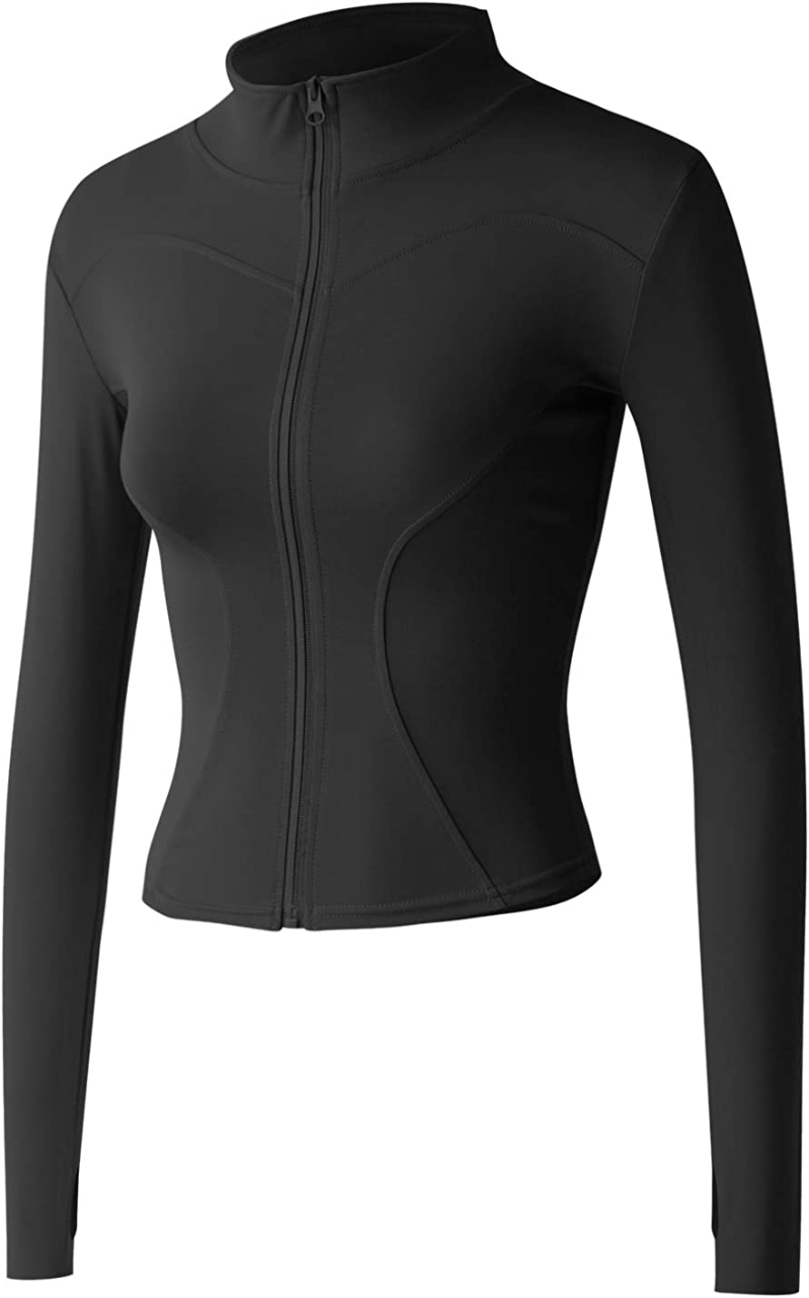 Sehcahe Women's Stretchy Lightweight Fu Max 64% OFF Athletic Jackets Workout Fashion