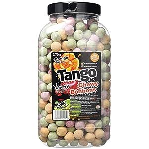rose marketing uk tango bon bons assorted flavour chewy bon bons jar 2.75 kg Rose Marketing UK Tango Bon Bons Assorted Flavour Chewy Bon Bons Jar 2.75 Kg 51bShME0BKL