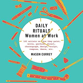 Daily Rituals: Women at Work audiobook cover art
