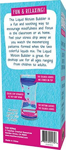Blue & Pink Liquid Motion Bubbler Photo #3