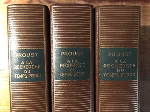 Proust Coffret 3Vol (Pleiade)