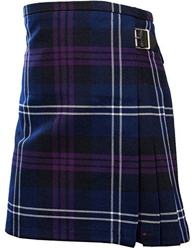 I Luv Ltd Gar�ons Kilt Patrimoine viscose Poly Of Scotland Tartan 9 10 ans