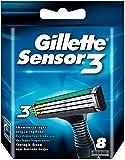 Gillette Sensor3 Recambios De Maquinillas 8 Unidades
