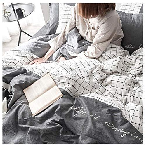 Bleu chocolat. King Soft Sleep/® Drap plat 100 /% coton /égyptien 300 fils Qualit/é h/ôteli/ère