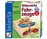 Selecta 2490 Vehículos - Puzzle de Cubos para bebés (4 Cubos)