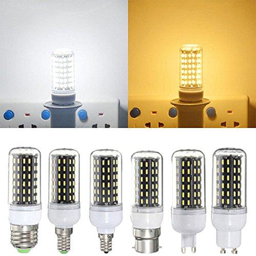 Bazaar E27 / E14 / E12 / B22 / G9 / GU10 LED-lamp 6W SMD 4014 96 600LM zuiver wit/warm wit maïs licht lamp wisselstroom 220V
