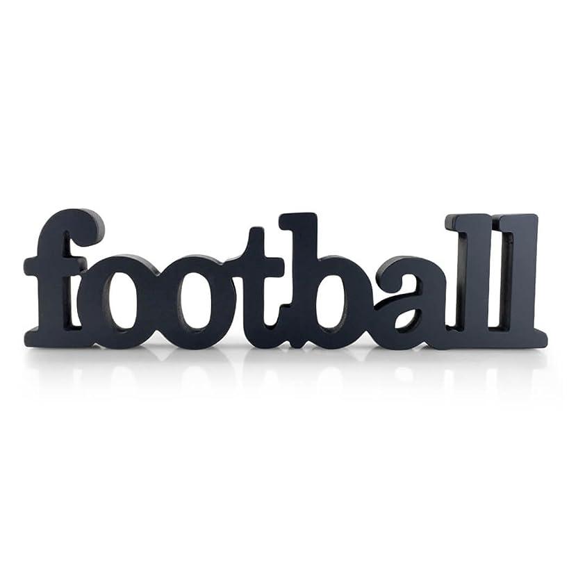 ChalkTalkSPORTS Football Wood Words | Football Sign & Decor