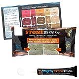 MagicEzy Stone Repairezy™ - Blanco (White) - Stone Fix - Kit de reparación de grietas de granito y mármol - Rellena y daña los colores rápidamente