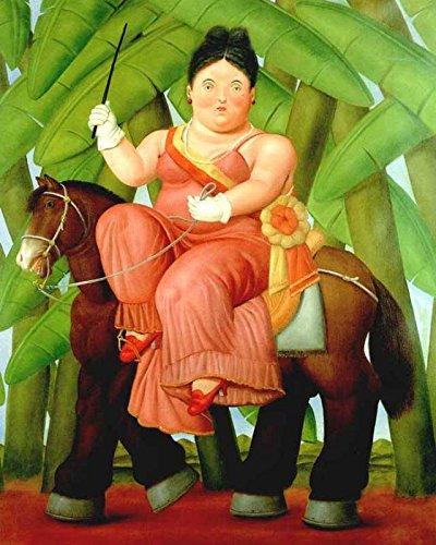 Botero 29 Poster cm 50x70 Affiche Plakat Fine Art Il Negozio di Alex