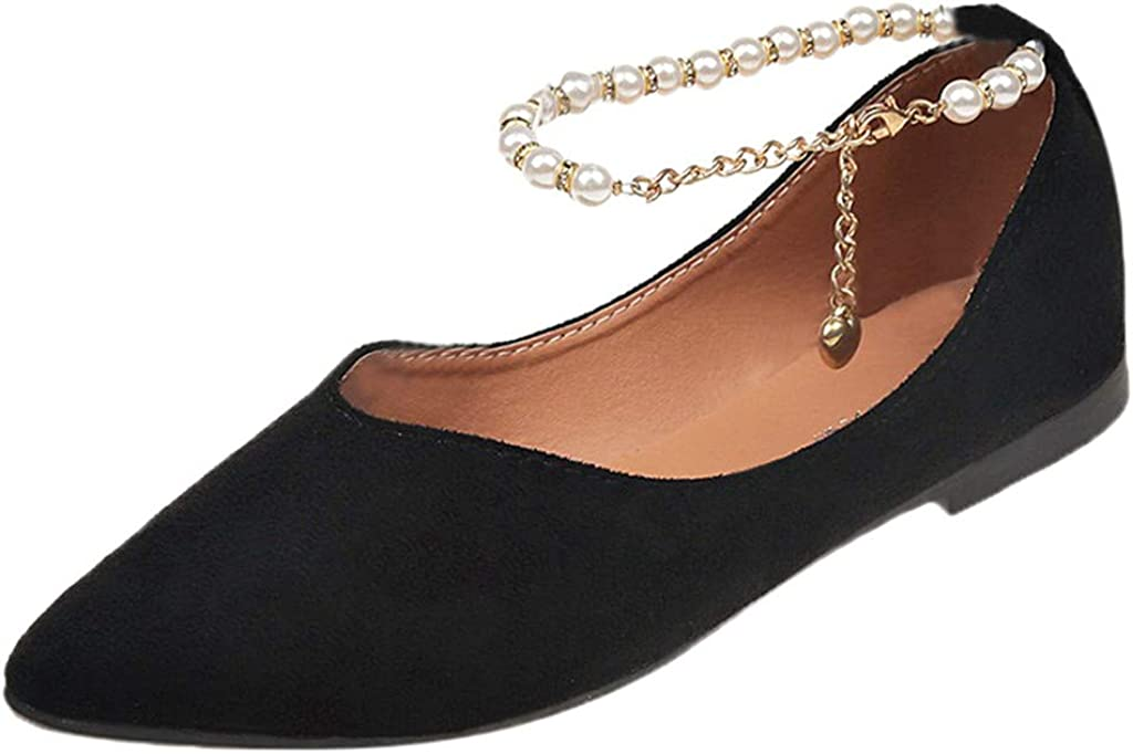 Factory outlet Women's Classic Pointy Toe Special Campaign Ballet Shoes Flats Slip On