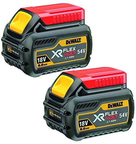 DeWalt DCB546 Flexvolt XR - Batteria agli ioni di litio, 18 V   54 V, 6 Ah