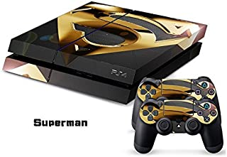 superman decal ps4