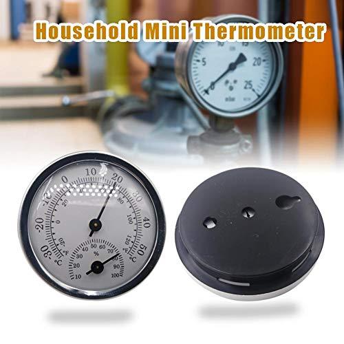 Haushalt Mini Thermometer Innen,Nass Und Trockenthermometer, Präzisions Hygrometer, Gewächshaus-, Temperaturund Feuchtigkeitsmesser