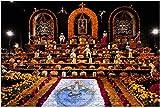 500 Pezzi - Elaborate Altare in The zócalo per la día de Los Muertos Festival in legno Jigsaw Puzzle DIY Bambini Educativi Puzzle Adulti Decompressione Regalo Giochi Creativi Giocattoli Puzzle