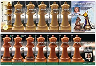 Complete Susan Polgar - 14 DVD Set - Winning Chess the Easy Way Vol 1 - 13 + Chess for Absolute Beginners
