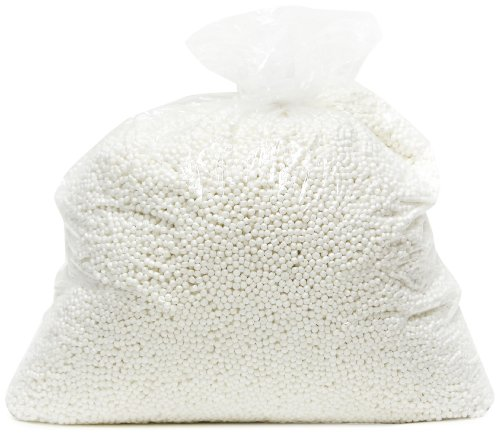 Gold Medal Bean Bags Bean Refill, Small, White