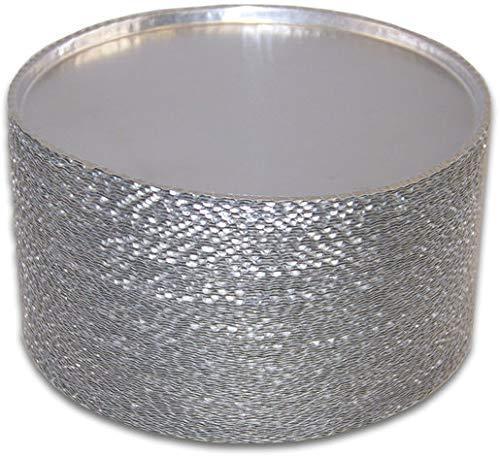 LS0068 - Wägeschalen/Probeschalen aus Aluminium, Ø 90 mm für Feuchtebestimmung, 80 Stück