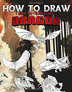 How To Draw How To Train Your Dragon: Learn To Draw How To Train Your Dragon With 24 Characters 105 Pages And Step-by-Step Drawings
