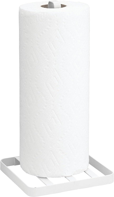 Manufacturer regenerated product mDesign Modern Metal Vertical Disposable Paper Stan Towel Holder Year-end gift
