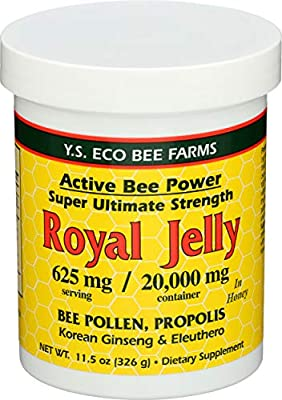 YS Eco Bee Farms Alive Bee Power Royal Jelly Paste - 625 mg - 11.5 oz