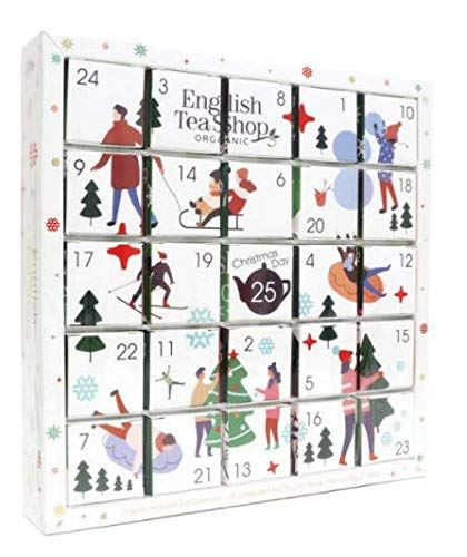 English Tea Shop 2020 Organic Tea Advent Calendar 25 ct