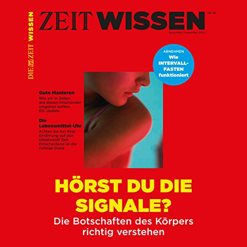 ZeitWissen, November / Dezember 2017                   By:                                                                                                                                 Die ZEIT                               Narrated by:                                                                                                                                 div.                      Length: 48 mins     Not rated yet     Overall 0.0