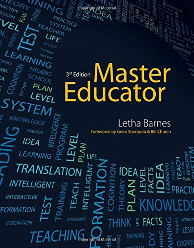 Compare Textbook Prices for Master Educator 3 Edition ISBN 9781133693697 by Barnes, Letha