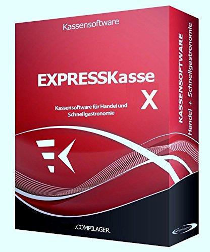 WINDOWS Kassensoftware EXPRESSKASSE X2 für Einzelhandel: Kiosk, Imbiss, Bar GDPdU KONFORM