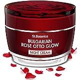 StBotanica Bulgarian Rose Otto Glow Night Cream | Brightening, Hydrating & Nourishing