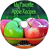 Apple Recipes 6 Cook Books on CD pudding cake pie jelly leather muffin bread