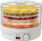 Sèche les fruits, les légumes, les épices, la viande et d'autres types d'aliments 5 plateaux de 32 cm inclus Contrôle continu de la température (35-70 °C) Garantie : 2 an(s) Poids du produit :2.45 kilogrammes
