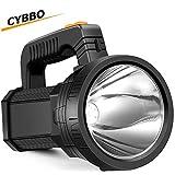LED Handheld Spotlight Flashlight Super Bright Rechargeable 9600mAh 6000 Lumens...