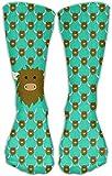 zhouyongz Yak Repeat - Calcetines unisex para vestido de tobillo, talla 6-10