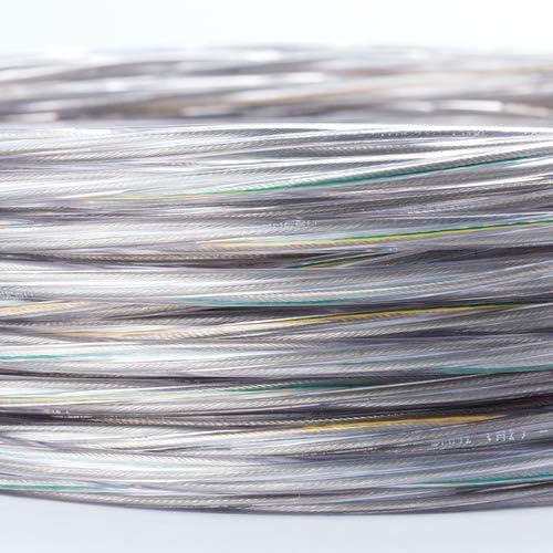 cable de alimentaci/ón //3 x 0,75 mm2 alambre el/éctrico Titel Cable de 3 conductores de pl/ástico transparente