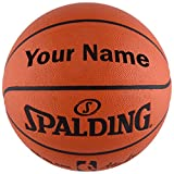 Customized Personalized Spalding NBA Replica Indoor Outdoor Basketball (29.5')