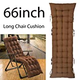 ELFJOY Patio Chair Cushions Rocking Chair Cushions Thick Padded for Lounge Chair Bench Cushion Loveseat (Coffee)