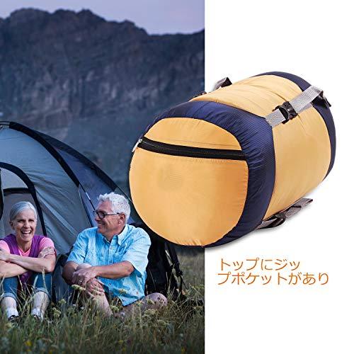 コンプレッションバッグ寝袋ウルトラライト圧縮バッグ防水収納袋ナイロン衣類圧縮保管袋REDCAMP