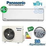 Climatizzatore mono split ETHEREA R32 Panasonic serie Z - 12000 btu A+++ con funzione WiFi